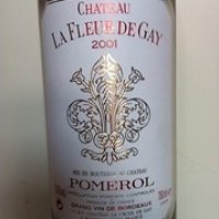 "Chateau La Fleur de Gay Pomerol 2001 • <a style=""font-size:0.8em;"" href=""http://www.flickr.com/photos/88422686@N06/8676534452/"" target=""_blank"">View on Flickr</a>"